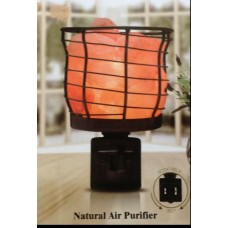 "Himalayan Salt Night-Light<br /><span style=""font-size: 12px;"">Air Purifier (Electric/Plug-in) #1801</span>"