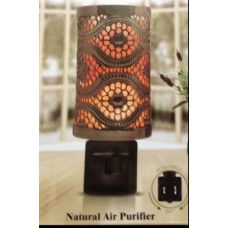 "Himalayan Salt Night-Light<br /><span style=""font-size: 12px;"">Air Purifier (Electric/Plug-in) #1808</span>"